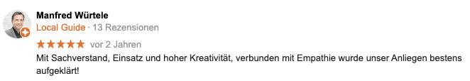 Google Bewertung Detektei Berlin